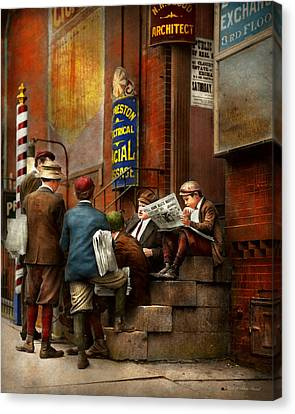 Canvas Print - Children - Morning Meeting 1910 by Mike Savad
