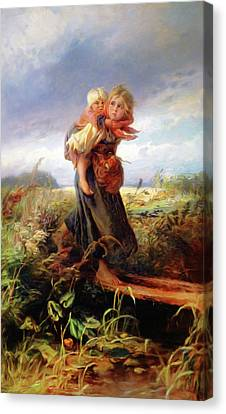 Children Of Yesterday Canvas Print