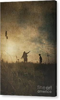 Children Playing Canvas Print