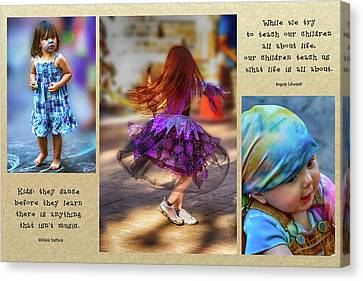 Children Teach Us Canvas Print