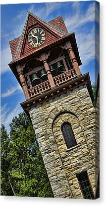 Childrens Memorial Tower - Stockbridge Canvas Print by Stephen Stookey