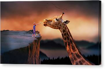 Child's Dreamworld Canvas Print by Nato Pereira