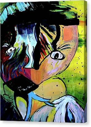 Child's Night Mare Canvas Print