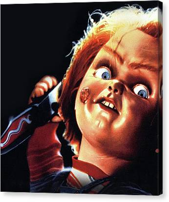 Chucky Canvas Print - Childs Play 1988 by Unknow