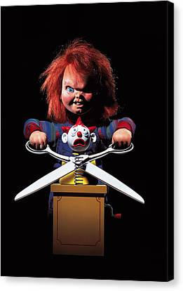 Chucky Canvas Print - Childs Play 2 1990 by Unknow