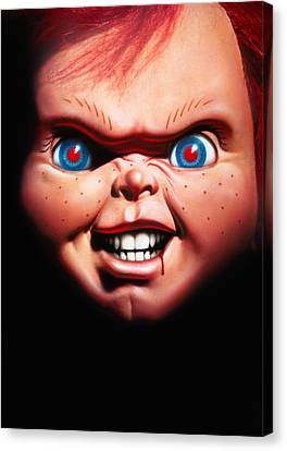 Chucky Canvas Print - Childs Play 3 1991 by Unknow