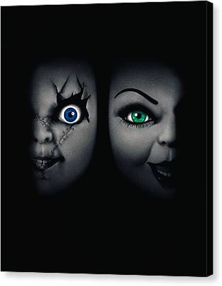 Chucky Canvas Print - Childs Play 4 Bride Of Chucky 1998 by Unknow