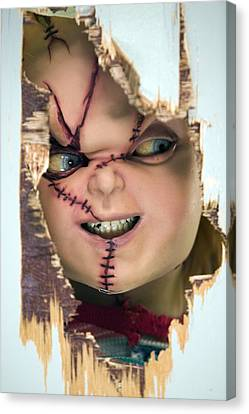 Thriller Canvas Print - Childs Play 5 Seed Of Chucky 2004 2 by Fine Artist