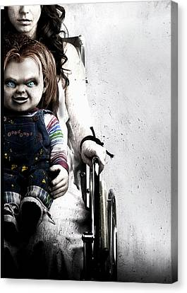 Chucky Canvas Print - Childs Play 6 Curse Of Chucky 2013 by Unknow