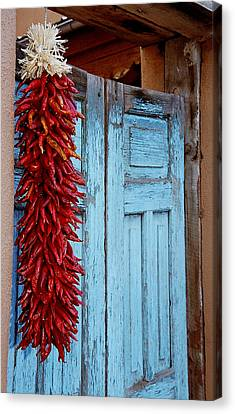 Chili Peppers. Canvas Print