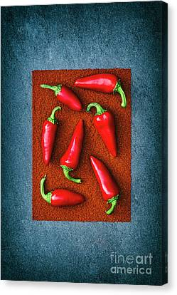 Chillies Canvas Print by Tim Gainey