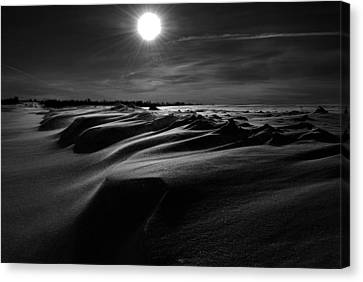 Chills Of Comfort Canvas Print by Empty Wall
