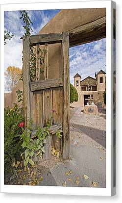 Chimayo Gate Canvas Print