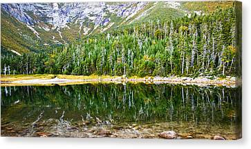 Chimney Pond Reflections 2 Canvas Print by Glenn Gordon