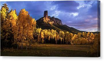 Chimney Rock Colorado Canvas Print