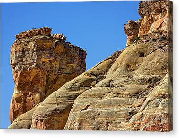 Brown Ranch Trail Canvas Print - Chimney Rock - New Mexico by Stuart Litoff