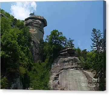 Chimney Rock State Park Nc Canvas Print