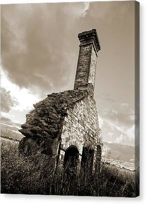 Chimney Ruins Canvas Print