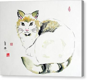 Canvas Print - China Cat by Liberty Dickinson