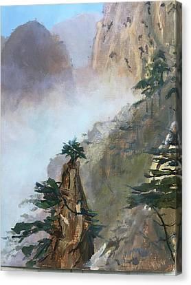 China Memories Canvas Print
