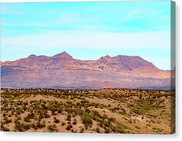 Chinati Range Canvas Print by Steven Green