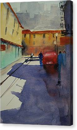 Chinatown Alley Canvas Print