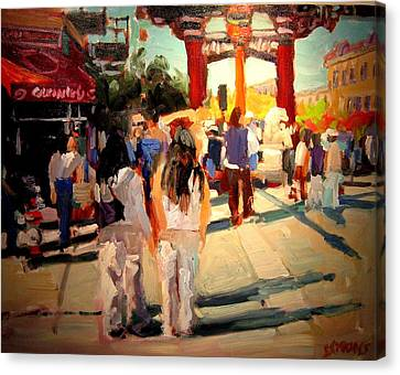 Chinatown Canvas Print by Brian Simons