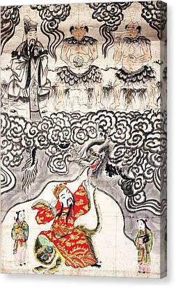Chinese Deities Of Medicine Canvas Print