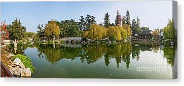 Chinese Garden At The Huntington Library. Canvas Print by Jamie Pham