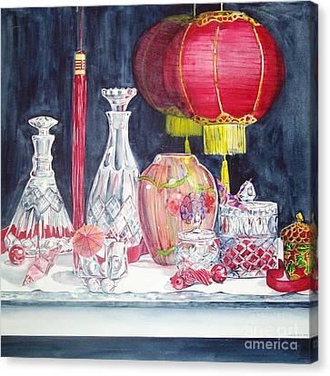 Chinese Lanterns No. 2 Canvas Print