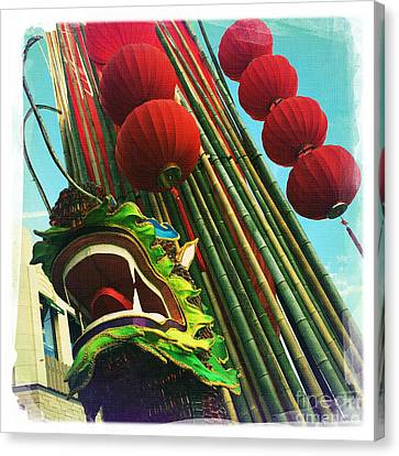 Chinese New Year Canvas Print by Nina Prommer