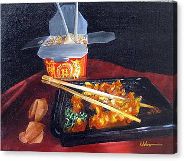 Chinese Take Out Canvas Print