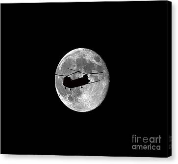 Chinook Moon .png Canvas Print by Al Powell Photography USA