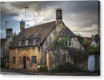 Chipping Camden Cottage Canvas Print by Chris Fletcher