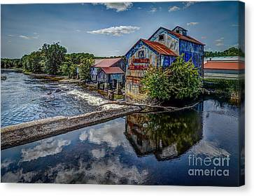 Chisolm's Mills Canvas Print by Roger Monahan