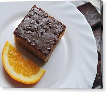 Chocolate And Orange Canvas Print
