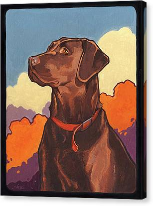 Chocolate But Not Hershey Canvas Print