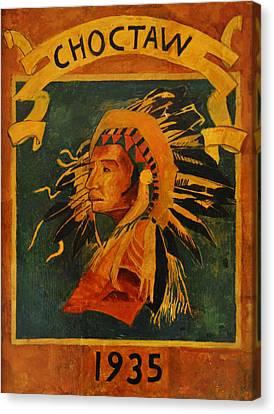 Nola Canvas Print - Choctaw 1935 by Bill Cannon