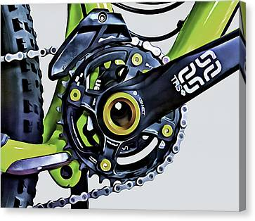 Canvas Print featuring the digital art Choice Transport 1 by Wendy J St Christopher