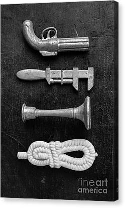 Choose Your Weapon Canvas Print by Edward Fielding