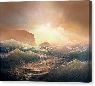 Chop Canvas Print by Robert Foster
