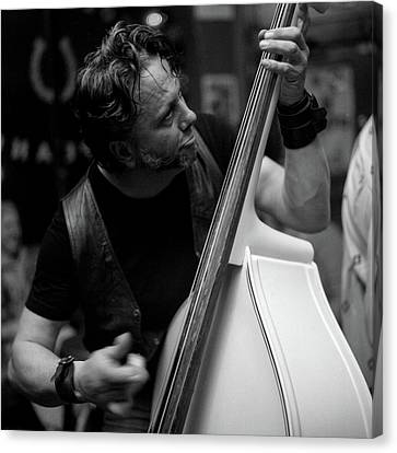 Chops On Bass Canvas Print by Chad Schaefer