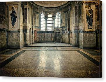 Christian Canvas Print - Chora Nave by Joan Carroll