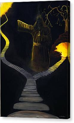 Chosen Path Canvas Print by Brian Wallace