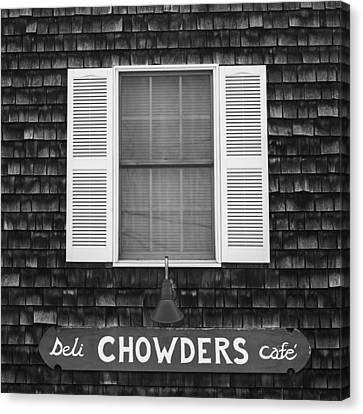 Chowders Cafe Canvas Print by Joseph Smith
