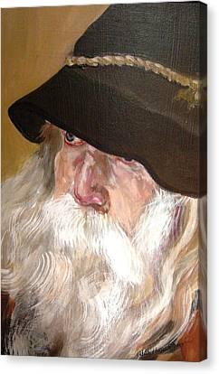 Chris' Beard Canvas Print