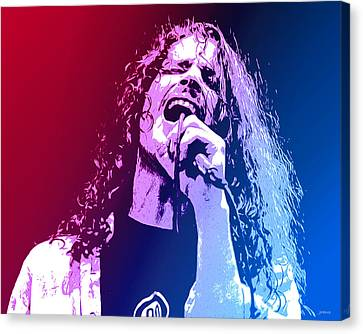 Chris Cornell 326 Canvas Print