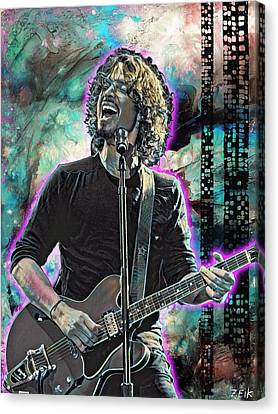 Chris Cornell - Outshined Canvas Print