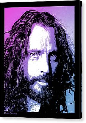 Chris Cornell Tribute Canvas Print