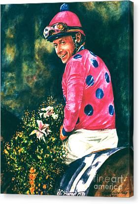 Chris Mccarron Up Canvas Print